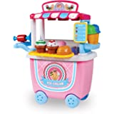 World Tech Toys Ice Cream Cart 14Piece Playset