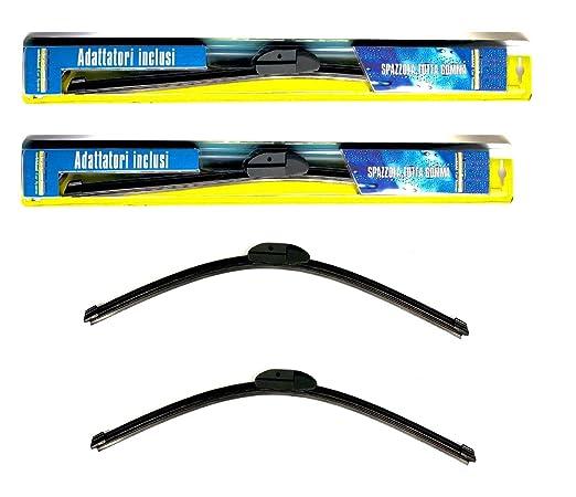 Melchioni Kit 2 escobillas de limpiaparabrisas 650 mm + 530 mm para Fiat 500 nuova-360009113: Amazon.es: Coche y moto