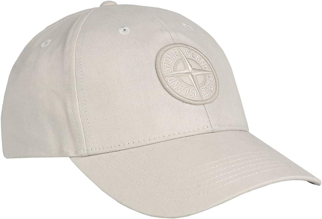 Stone Island - Gorra de béisbol - para hombre beige beige M ...