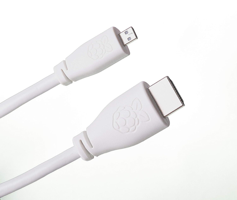 4GB RAM, White Melopero Raspberry Pi 4 Computer Essentials Kit