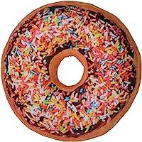 Wemi Large Donut Throw Pillow Soft Novelty Doughnut Shaped Ring Plush Cushion Pillow 40cm