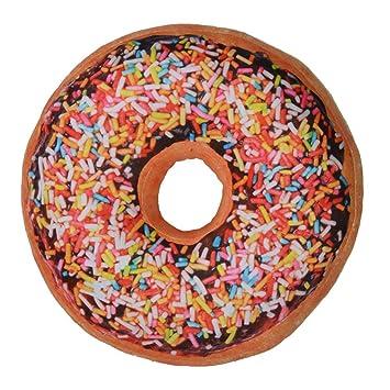 Tamaño grande suave diseño de galletitas con forma de donut ...