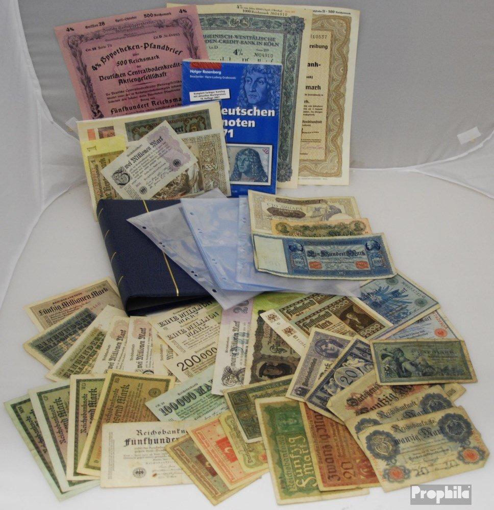 Prophila Collection Tedesco Empire Wonder Box No.. 194 40 Diversi Banconote (Banconote )