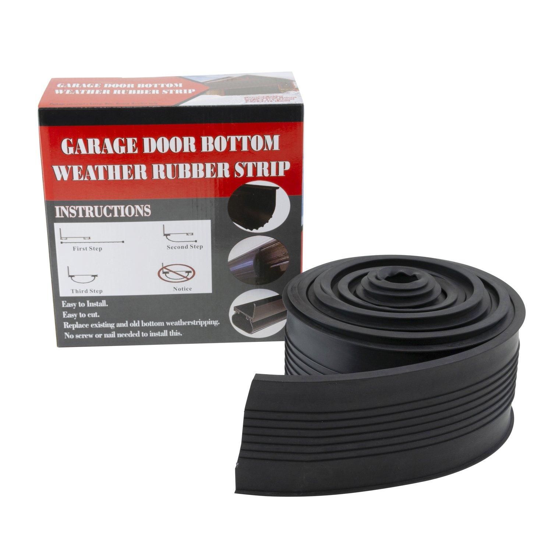 Houseables Garage Door Seal Weather Stripping Bottom Replacement