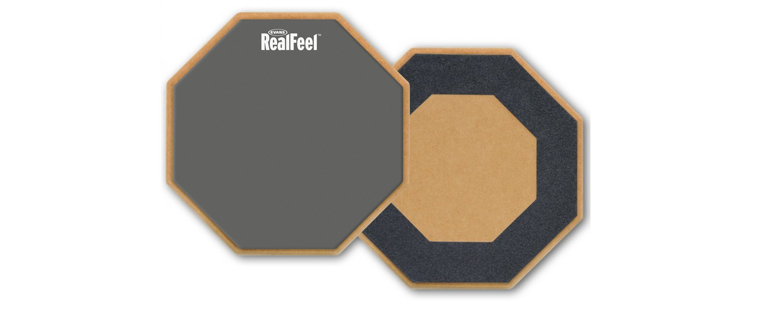 RealFeel by Evans Practice Pad, 12 Inch