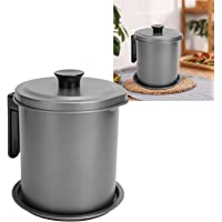 Oil Strainer Pot, Durable Environmentally Friendly Kitchen Oil Filter Pot, Oil Strainer, Restaurants Oil Storage for…