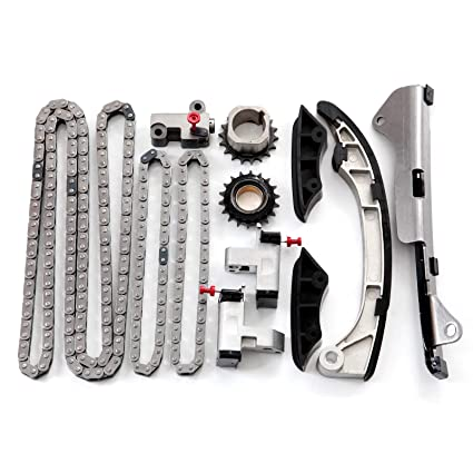 Amazon com: OCPTY Timing Chain Kit Tensioner Guide Rail Idler