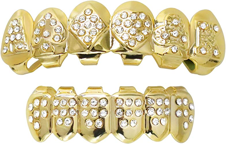 Silver with Skulls Custom Fit Costume Accessory SALE fnt Stay Put Grillz