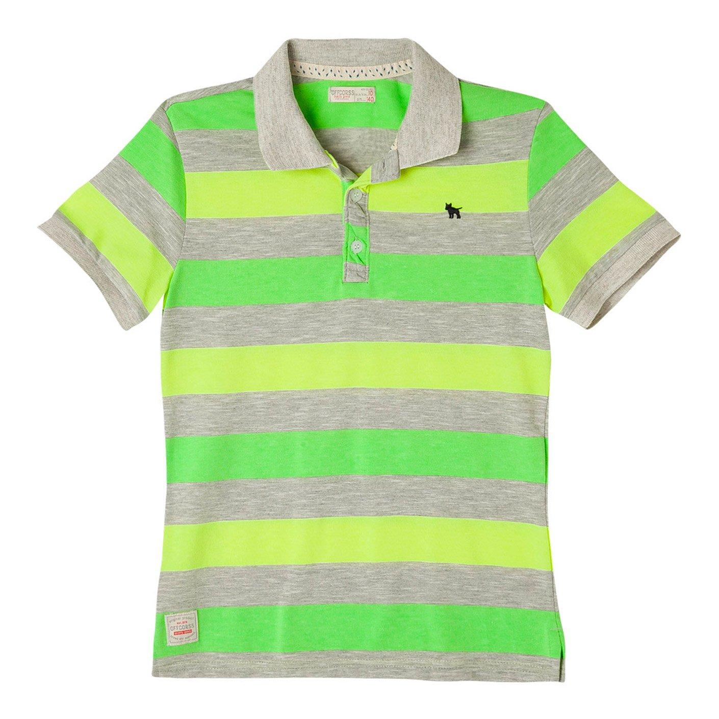 Galleon - OFFCORSS Cotton Polo Shirts For Teen Boys Camisetas Tipo Polo De  Niño Gray 10 db77205466569