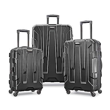 7add013e3 Amazon.com | Samsonite 3-Piece Set, Black | Luggage
