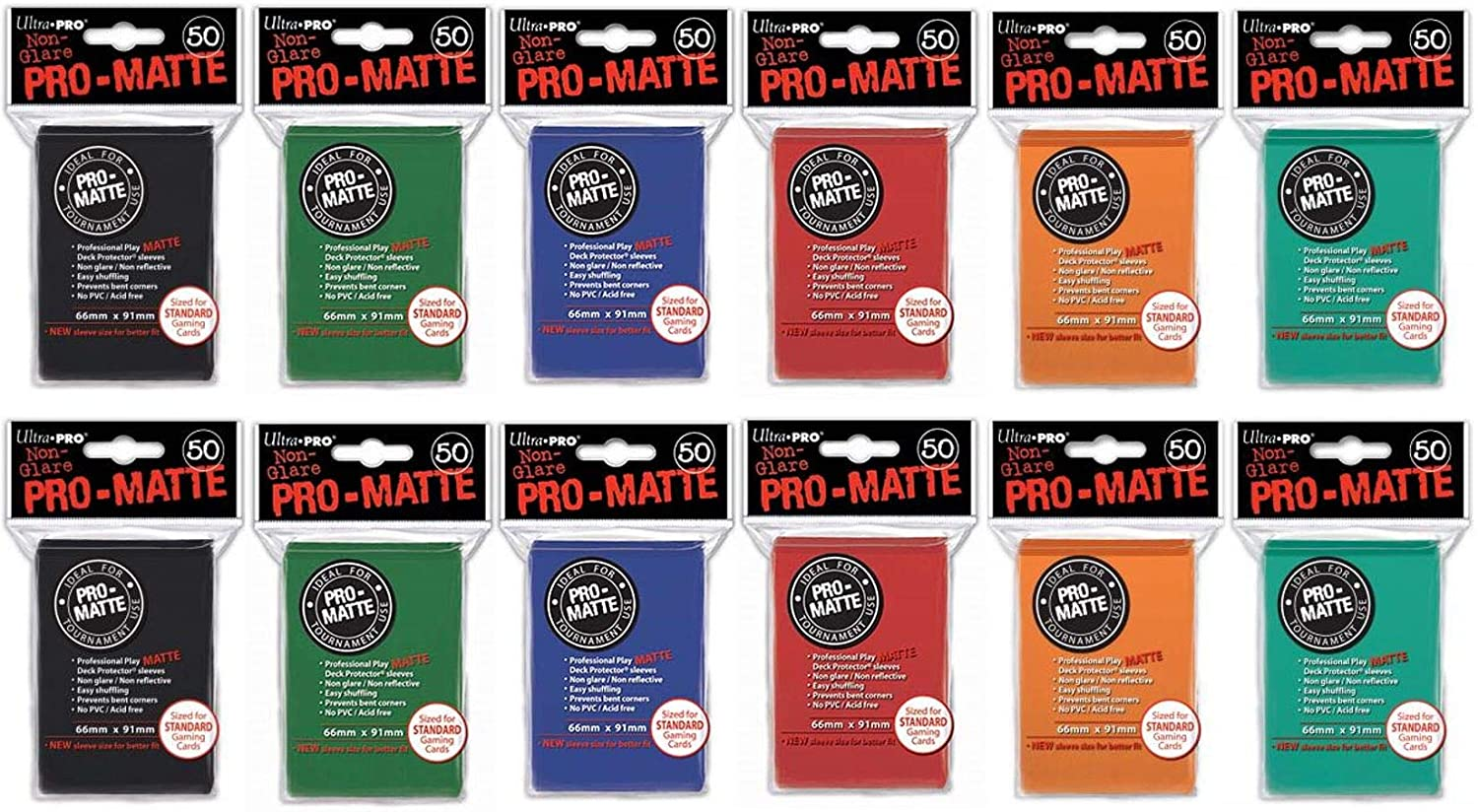 600 Ultra Pro Pro-Matte Deck Protector Sleeves
