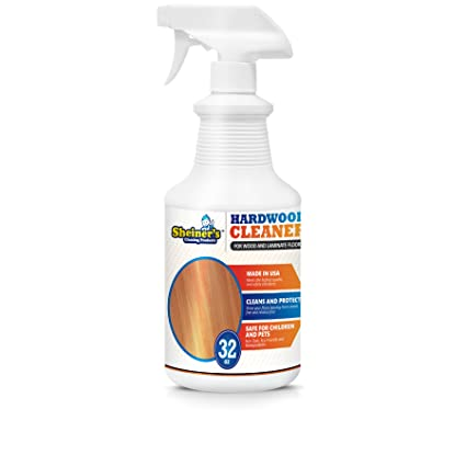 Amazon Sheiners Hardwood Floor Cleaner Spray For Cleaning Wood