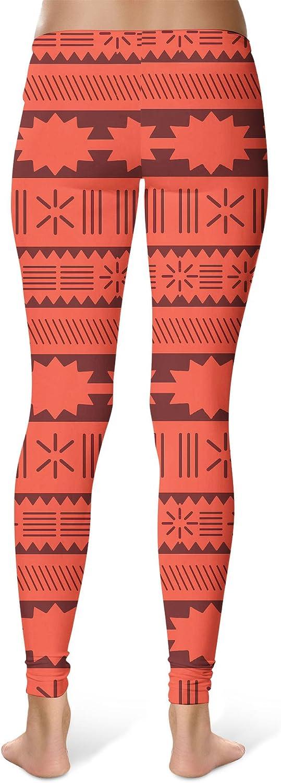 Full Length Mid//High Waist Moana Inspired Disney Sport Leggings
