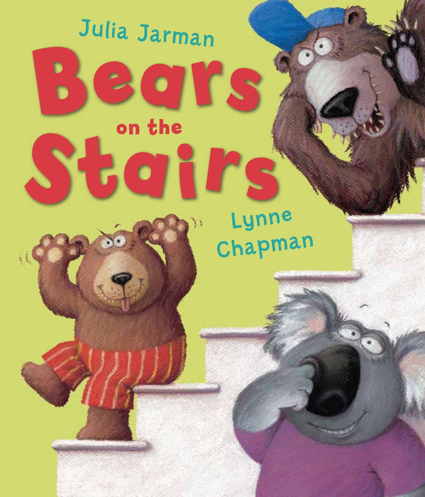 Bears on the Stairs: Jarman, Julia, Chapman, Lynne: 9781849390286 ...