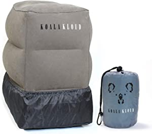 aKoala Kloud Inflatable Travel Foot Rest Pillow
