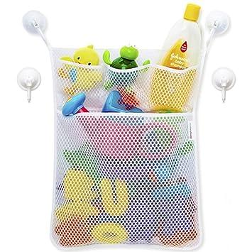 Early Buy Bath Toy Organizer   Tub Toy Organizer Kids Bathtub Toy Organizer  Toy Storage Mesh