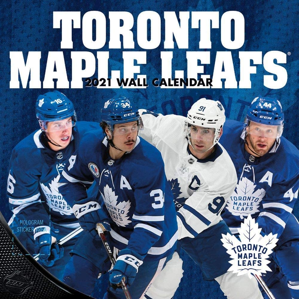 TURNER Sports Toronto Maple Leafs 2021 Mini Wall Calendar (21998040589)