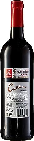 Cune Vino Tinto - Paquete de 6 x 750 ml - Total: 4500 ml