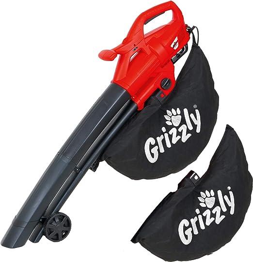 Grizzly Eléctrico - Soplador, aspirador y triturador de hojas, Potencia 2800 W Blas velocidad 270 KM/H: Amazon.es: Hogar