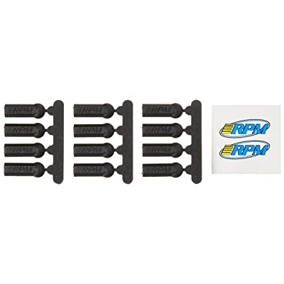 RPM Heavy Duty Rod Ends (12), Black: Toys & Games