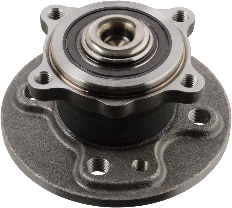 Hinterachse beidseitig Radlager febi bilstein 31078 Radlagersatz mit ABS-Impulsring 1 St/ück