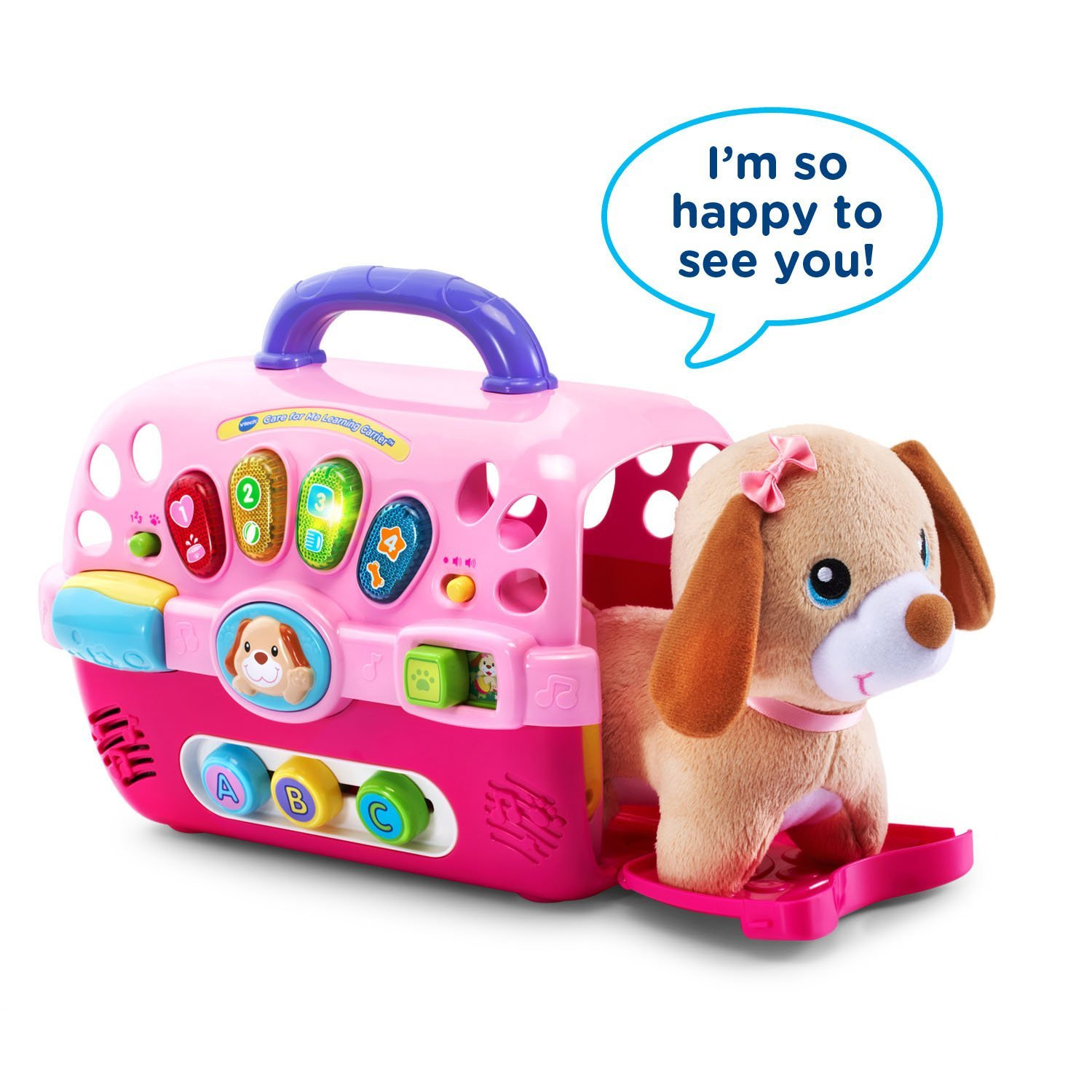 Amazon VTech Care for Me Learning Carrier Toy Toys & Games