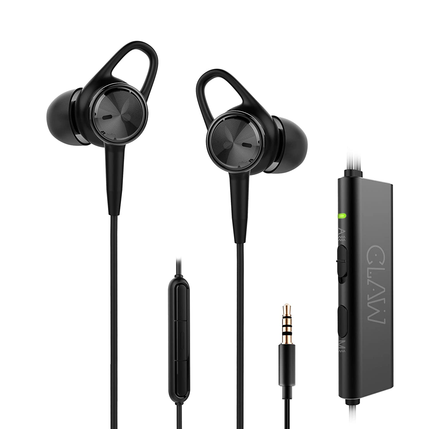 CLAW ANC7 Active Noise Cancelling Earphones With Microphone