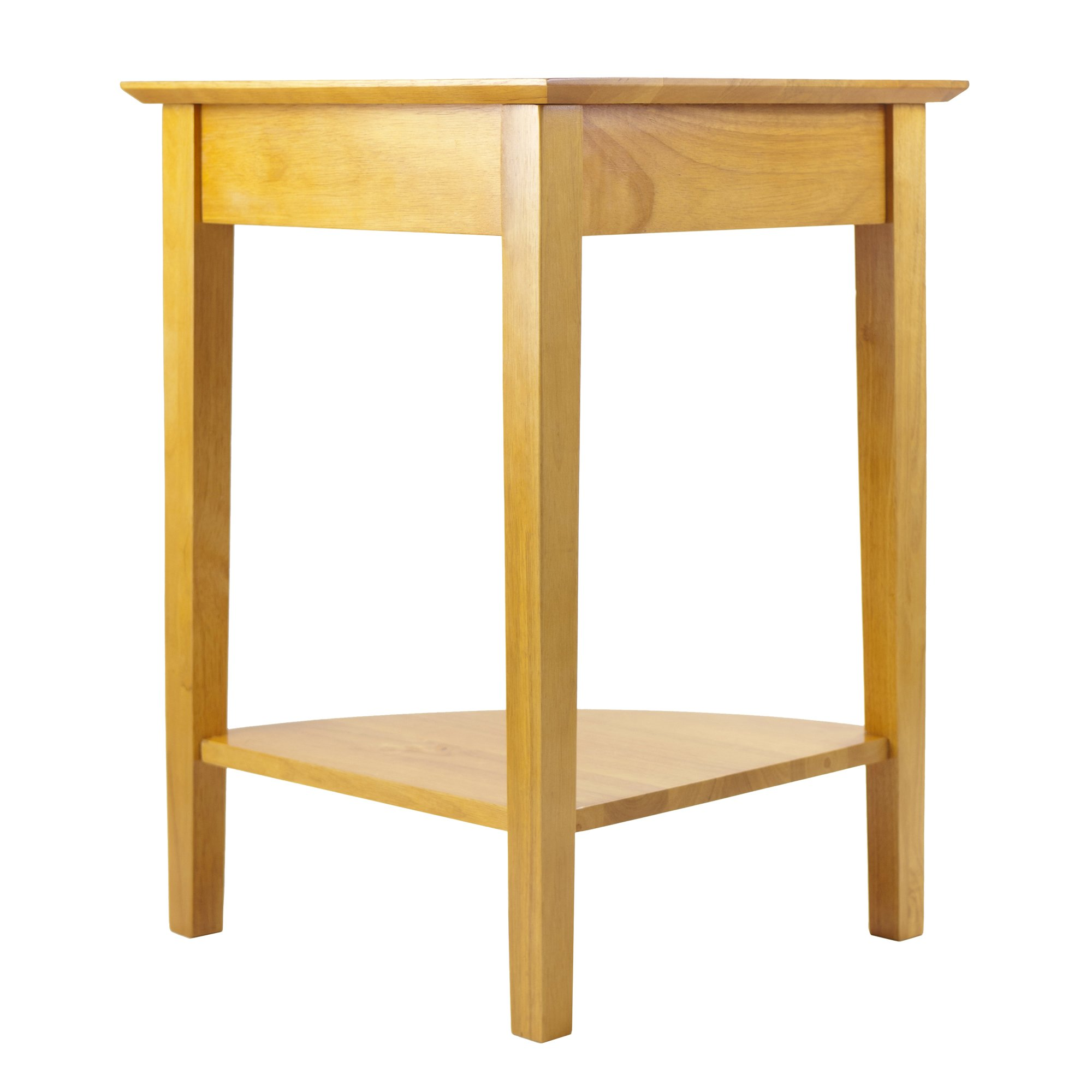 Winsome Wood Corner Desk with Shelf, Honey by Winsome Wood (Image #4)