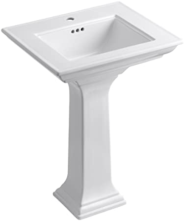Kohler K 2344 1 0 Memoirs Pedestal Bathroom Sink With Stately Design