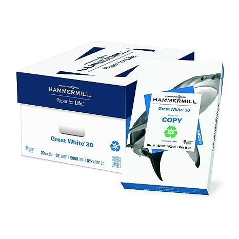 Amazon.com: Hammermill Papel, papel de impresora reciclado ...