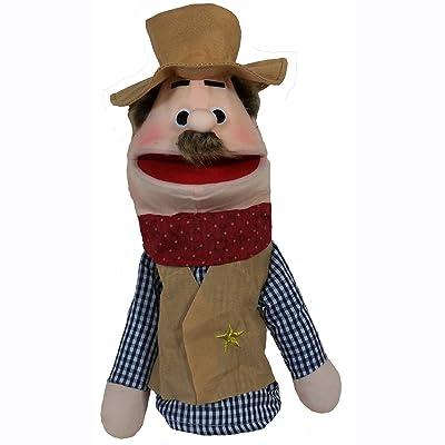"Puppet Partners 17.5"" Cowboy Puppet: Toys & Games"