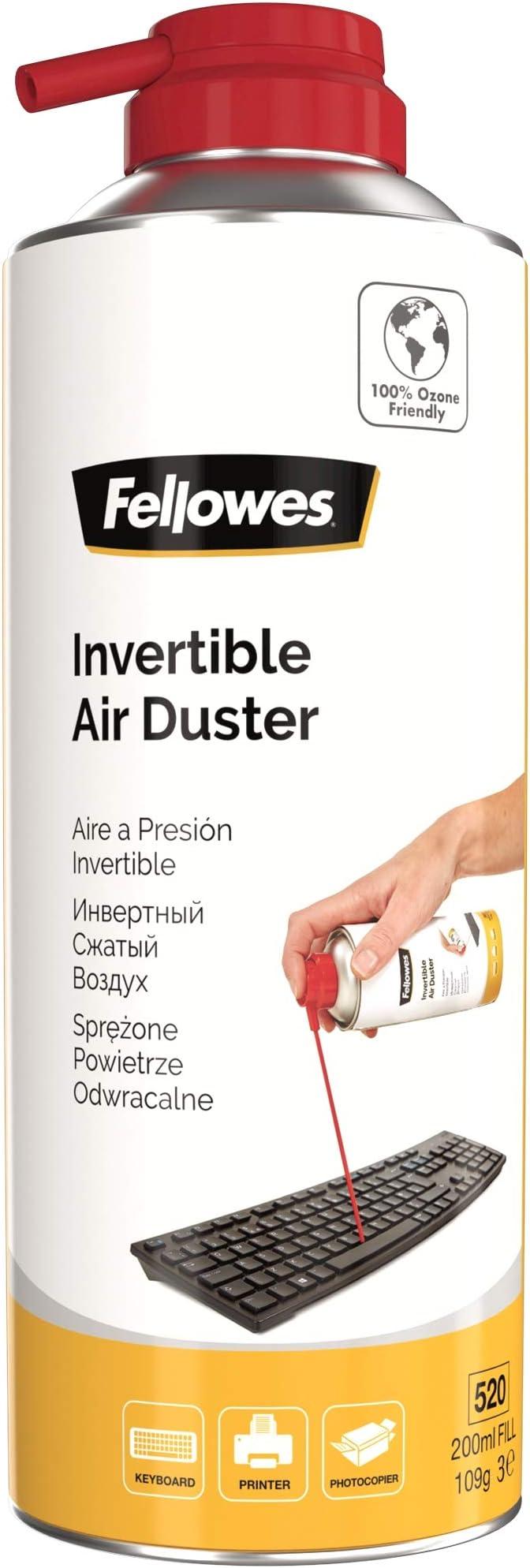 Fellowes 9974805 - Spray de aire comprimido, 200 ml: Amazon ...