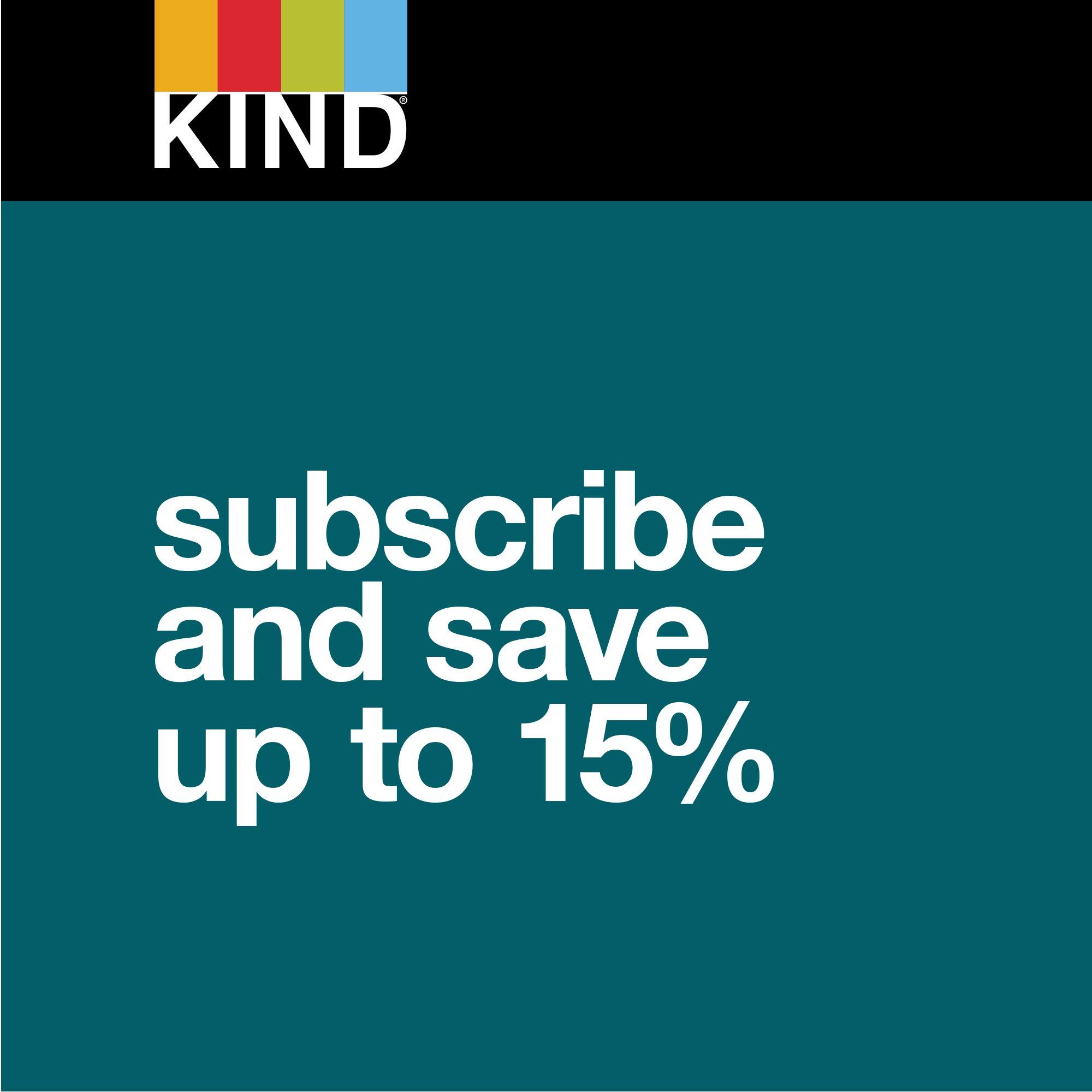 KIND Bars, Dark Chocolate Nuts & Sea Salt, Gluten Free, Low Sugar, 1.4oz, 48 Count by KIND (Image #8)