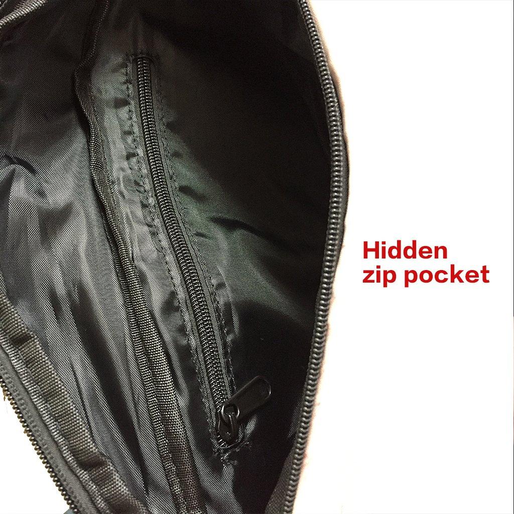 Dad Bag Waist Fanny Packs Unisex Fake Beer Belly Waist Bag with Phone Holder