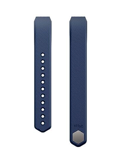 Fitbit Alta - Pulsera clásica, Color Azul, Talla L
