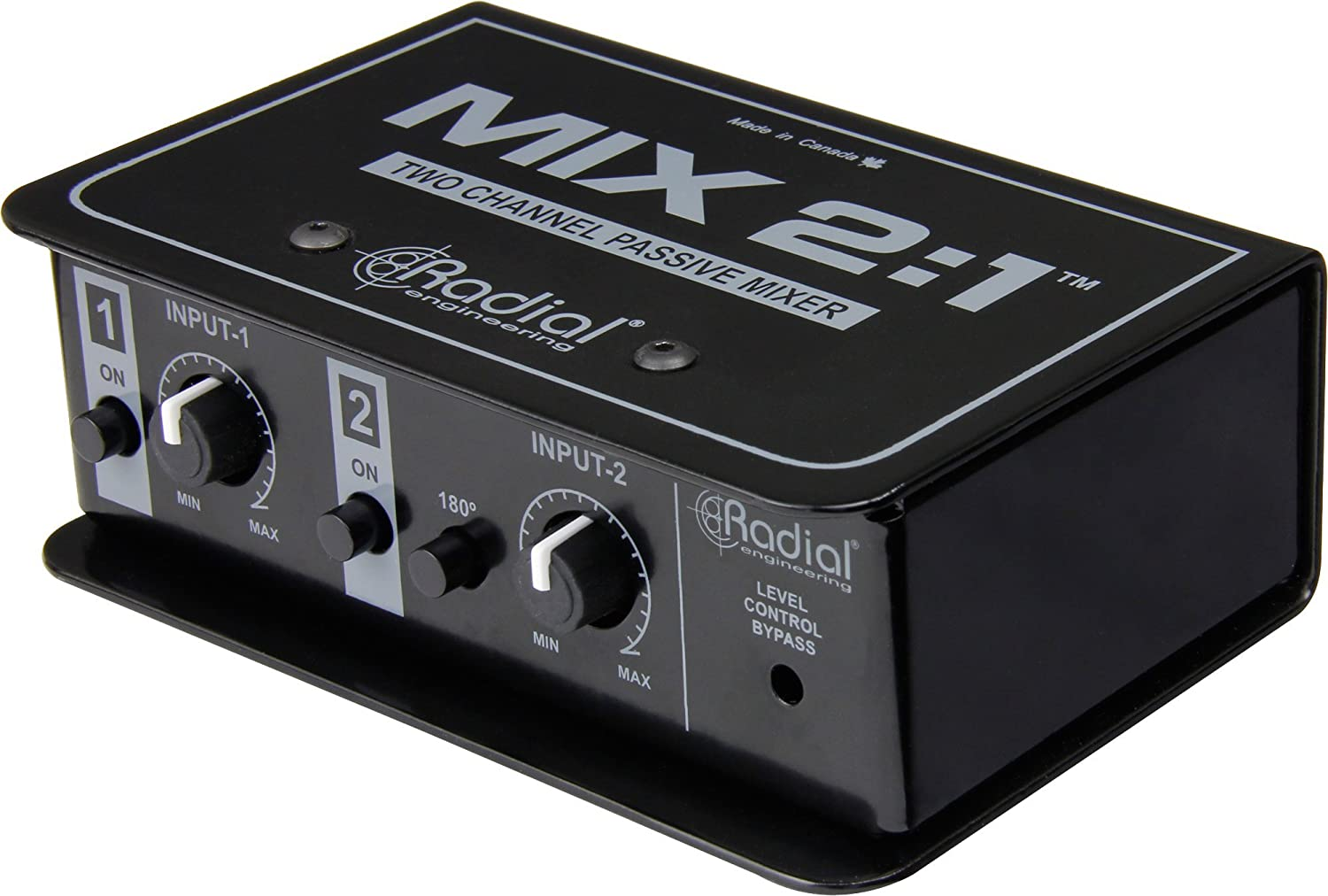 Radial Engineering MIX 2:1 - Two Channel Audio Combiner & Mixer 4334432736