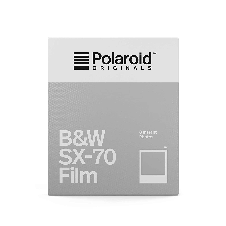 Polaroid Originals Instant Film B&W for SX-70, White (4677) Impossible