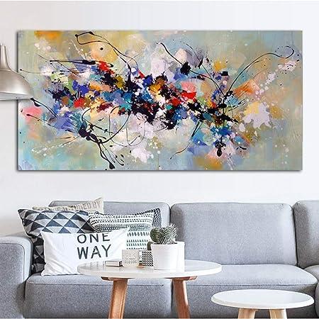 Abstrait Art Peinture à L Huile Toile Peinture Mur Photos