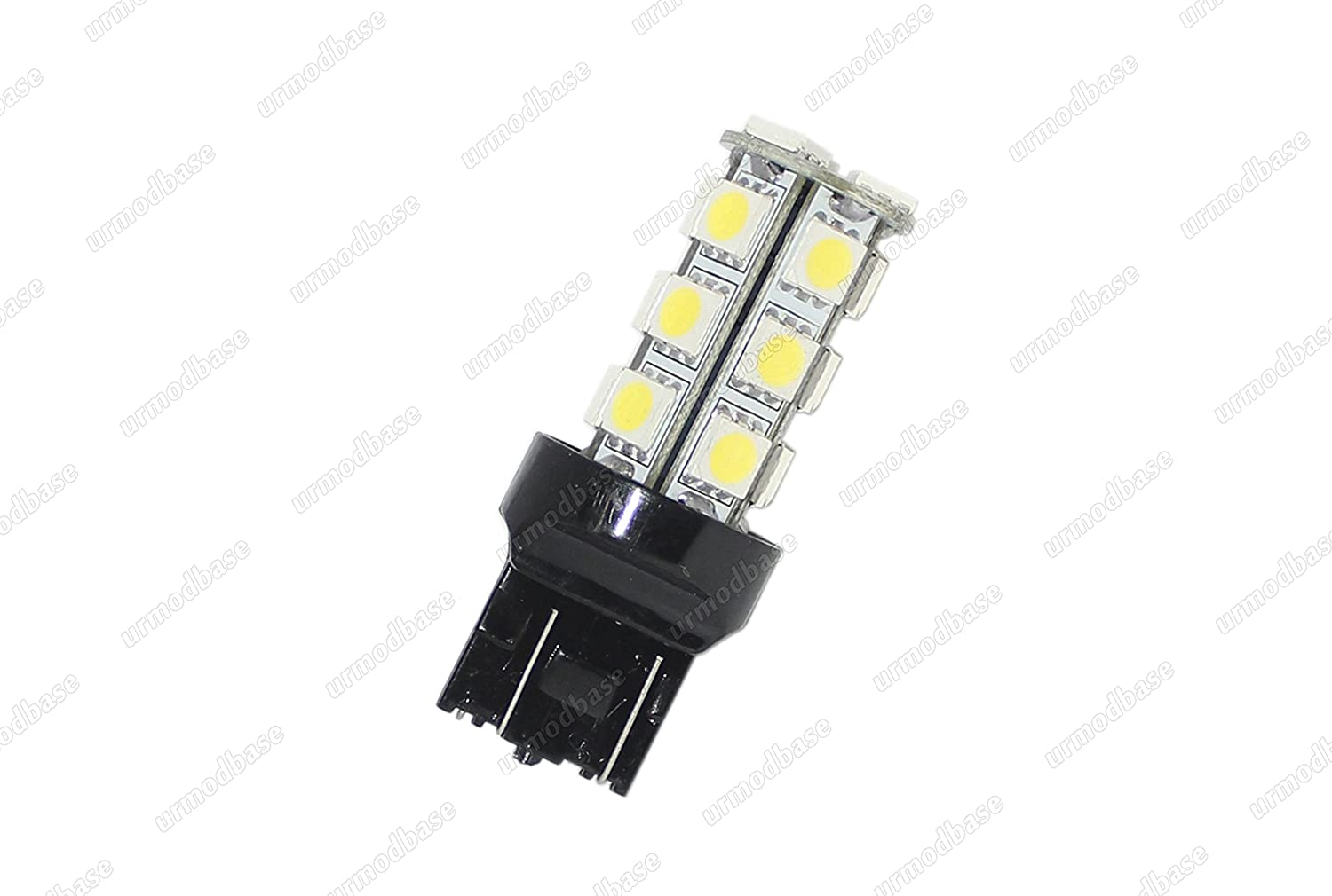 urmodbase T20 580 W21 5W 7443 LED SMD Xenon White DRL Daytime Running Lights Parking Side Lamps Bulbs ONLY FOR THE VEHICLES IN DESCRIPTION