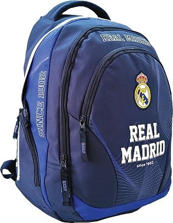 Real Madrid Exclusiv und Ergonomisch Rucksack Schulrucksack