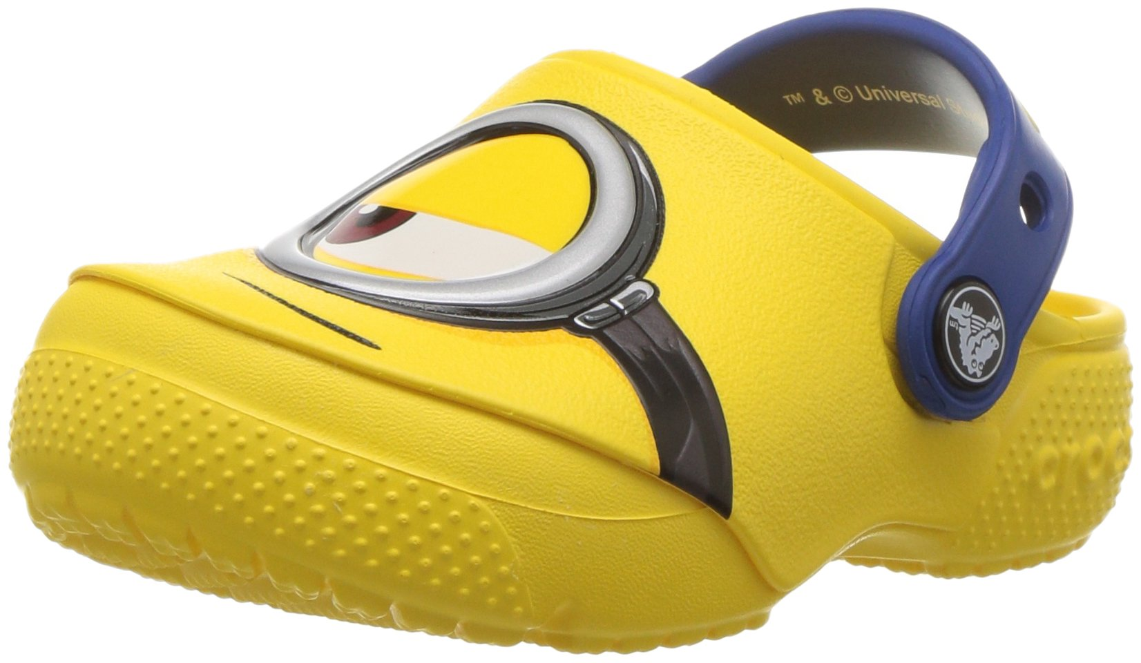 Crocs Unisex FunLab Minions Clog K , Yellow, 9 M US Toddler