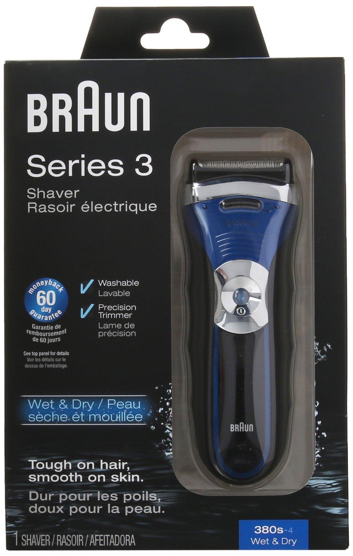 Braun Series 3 380s Men's Electric Foil Shaver