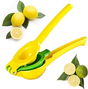 CINEYO Premium Quality Manual Lemon and Lime Squeezer - Manual Citrus Juicer Press, Hand Juicer Kitchen Tool and Professional use,