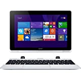 Acer Aspire Switch 10 SW5-012 10.1 inch Convertible Tablet (Intel Atom Z3735F 1.33 GHz, 2 GB RAM, 32 GB Memory, Windows 8.1 with Free Windows 10 Upgrade) - Silver
