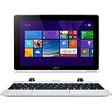 "Acer Aspire Switch 10 W5-012-16K5 Portatile Convertibile, Schermo da 10.1"" IPS, Intel Atom Z3735F Quad-Core, RAM 2 GB, eMMC 32 GB, Argento"