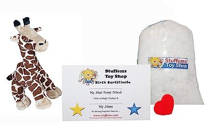 Amazon Com Make Your Own Stuffed Animal Mini 8 Inch Gerry The