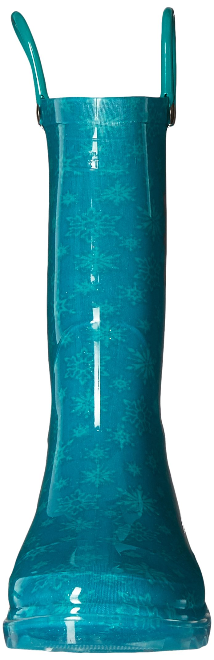 Western Chief Kids Girls' Waterproof Rain Boots That Light up with Each Step, Frozen Elsa and and, 13 M US Little Kid by Western Chief (Image #4)