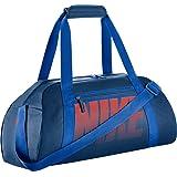 Nike Gym Club Women's Training Duffel Bag (Blue/Orange)