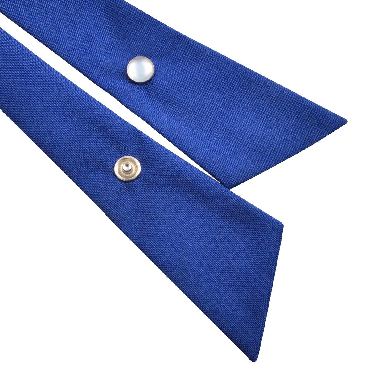 5d1a90d3f1f05 Alizeal Nœud Papillon Croisé pour Uniforme pour Homme Femme Fille-Bleu  Royal: Amazon.fr: Vêtements et accessoires