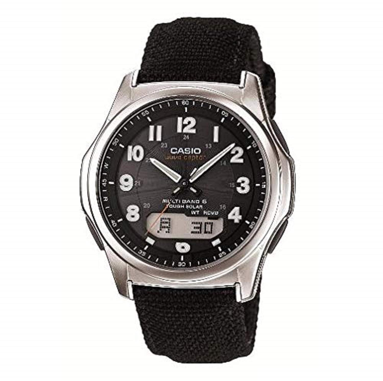 1d9dc13a6a78 Amazon.com  Casio Wave Ceptor Tough Solar MULTIBAND6 Men s Watch WVA-M630B-1AJF  (Japan Import)  Watches